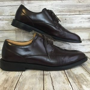 Rockport 10M Burgundy Leather Dress Oxford Shoe